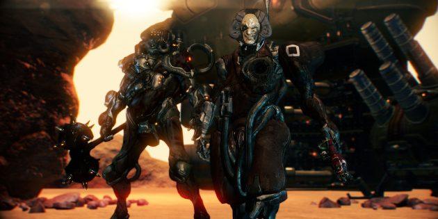 Бесплатные игры для PlayStation 4: Warframe