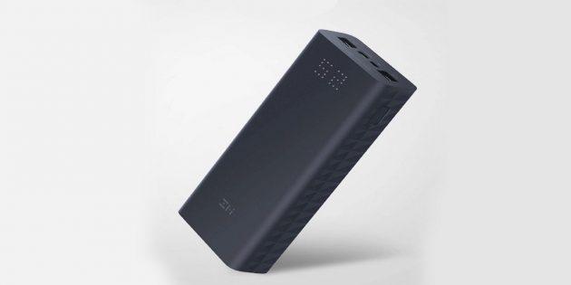 Новинка от Xiaomi: аккумулятор ZMIAura Power Bank