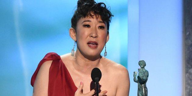 Премия SAG: Сандра О — «Убивая Еву»