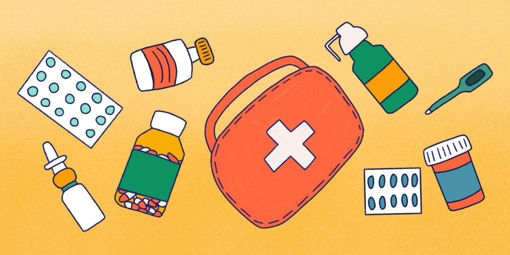 Оформление страховки: Аптечка