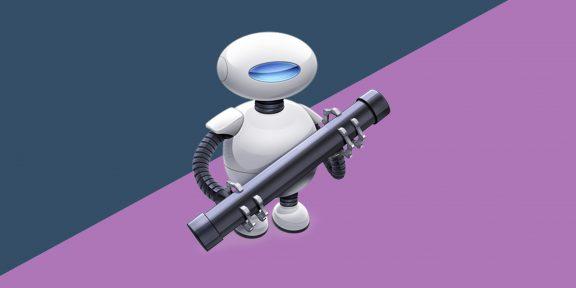 10 операций для Automator на macOS, которые автоматизируют рутинные действия
