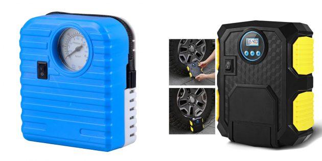 Подарки парню на 23Февраля: Автомобильный компрессор