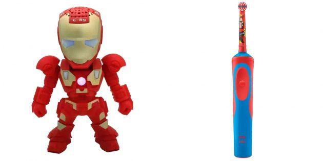 Что подарить мальчику на 23Февраля: Вещи с супергероями