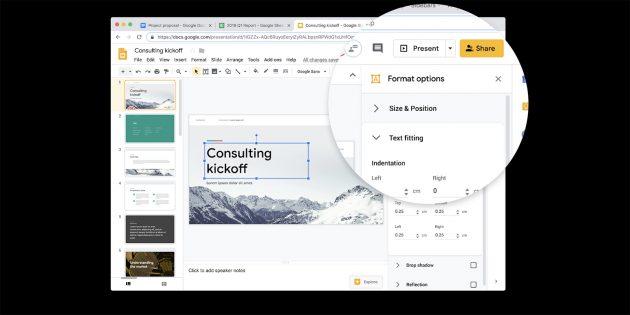 Google обновила дизайн «Документов», «Таблиц», «Презентаций» и «Сайтов»