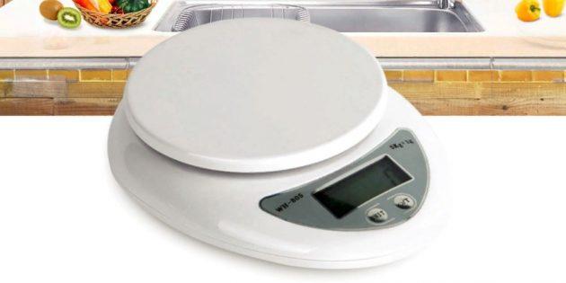10бюджетных гаджетов, которые пригодятся каждому: кухонные весы