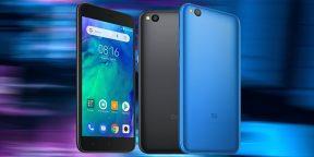Xiaomi представила Redmi Go — свой первый смартфон на облегчённой версии Android
