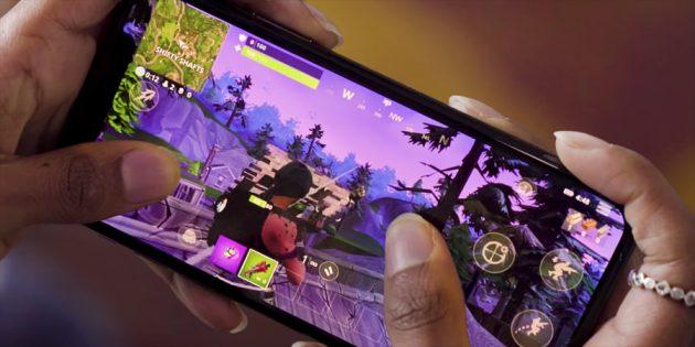 Fortnite с геймпадом: Мобильная версия