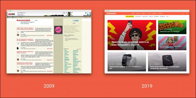 #2009vs2019challenge: Лайфхакер принимает вызов