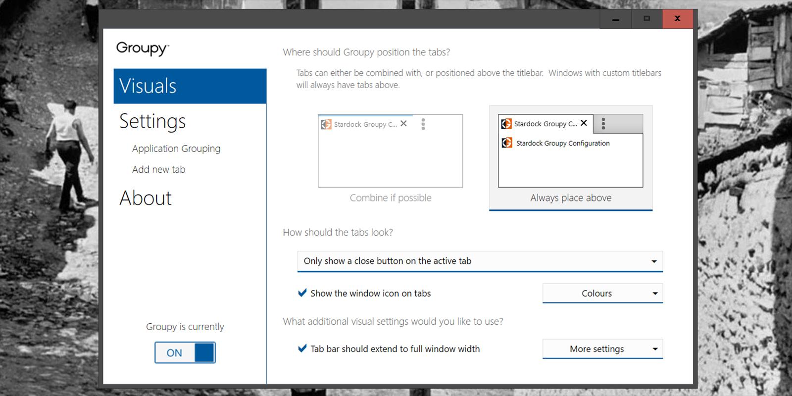 Groupy для Windows позволит быстро переключаться между