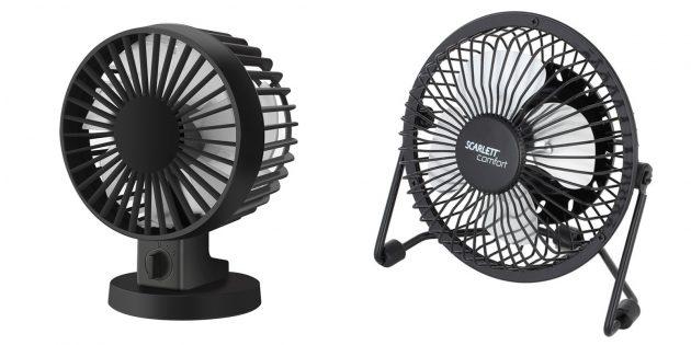 Подарки коллегам на 23Февраля: вентилятор