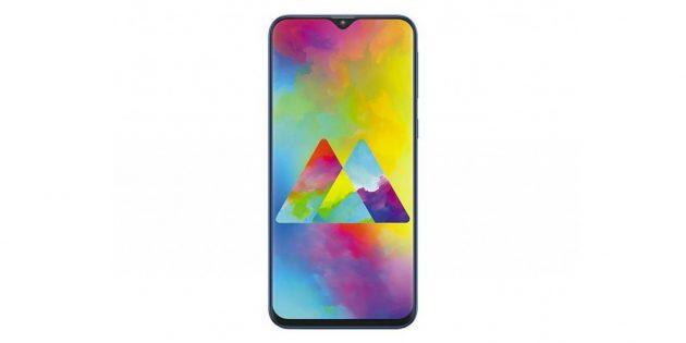 Два смартфона из бюджетной серии Galaxy M: Galaxy M20