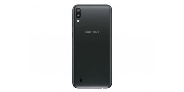 Два смартфона из бюджетной серии Galaxy M: Galaxy M10