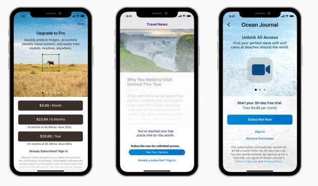 Подписки в App Store: Подписки на iOS-приложения