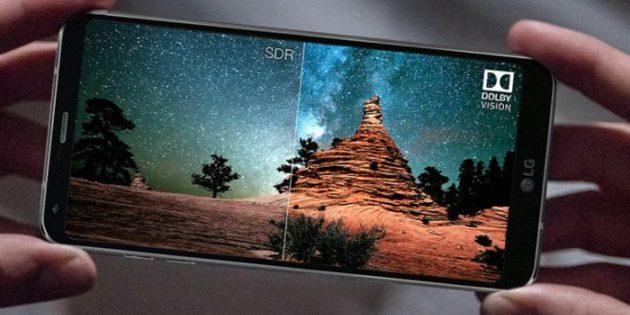 Выбор нового смартфона: Поддержка HDR