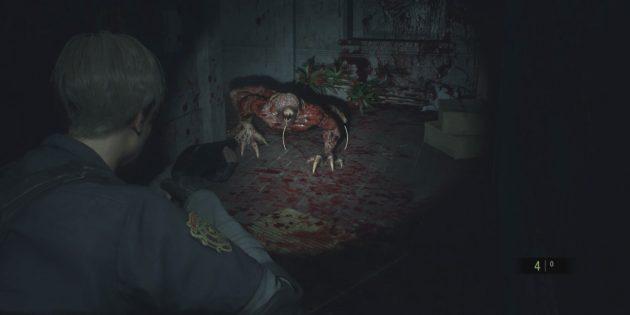 Прохождение Resident Evil 2: обходите лизунов