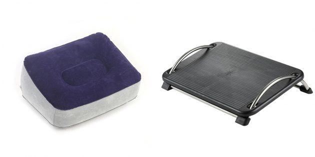 Подарки коллегам на 23Февраля: подставка для ног