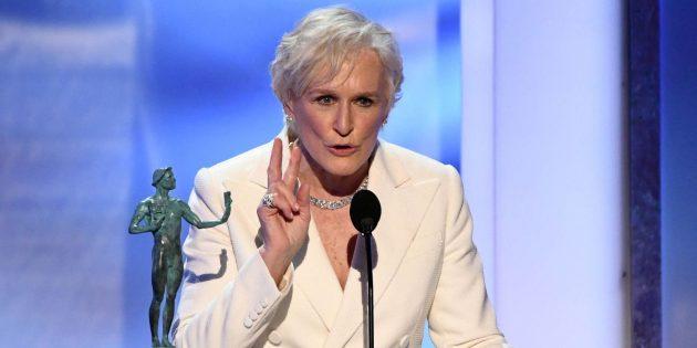 Премия SAG: Гленн Клоуз — «Жена»