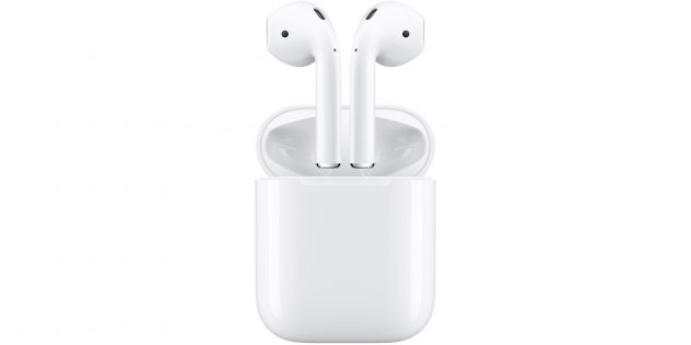 Лучшие беспроводные наушники: Apple AirPods