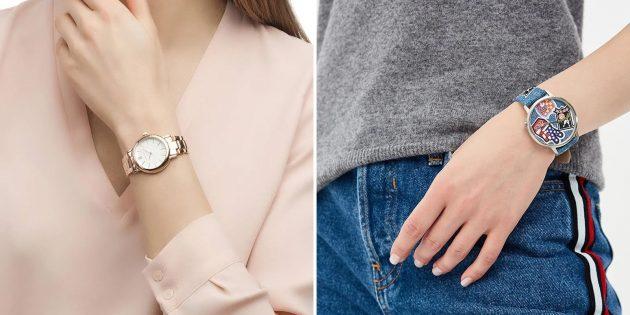 Что подарить девушке на 14февраля: наручные часы