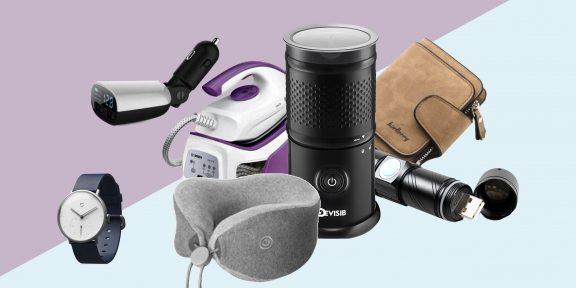 Находки AliExpress: карманный фонарик, кигуруми и автоматический капучинатор