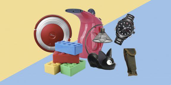 Находки AliExpress: отпариватель для одежды, внешний аккумулятор и чехлы для обуви