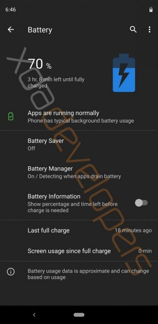Android Q: настройка тёмной темы