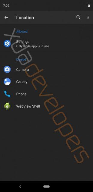 Android Q: доступ к камере и микрофону