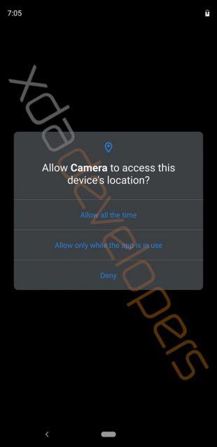 Android Q: новые разрешения для приложений