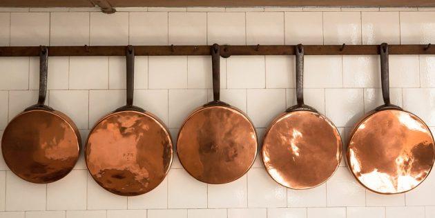 Как выбрать сковороду: Медные сковороды