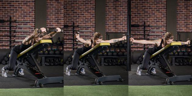 Упражнения на трапецию: IYT-подъёмы на животе