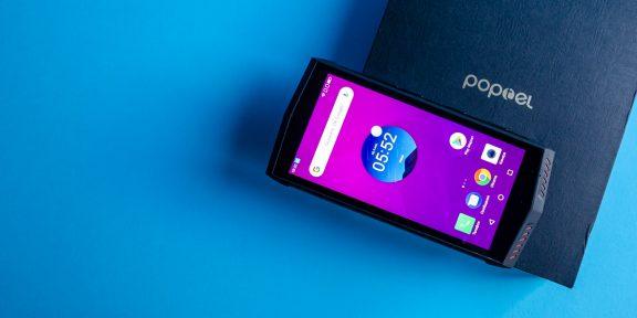 Обзор Poptel P60 —защищённого смартфона с беспроводной зарядкой и NFC