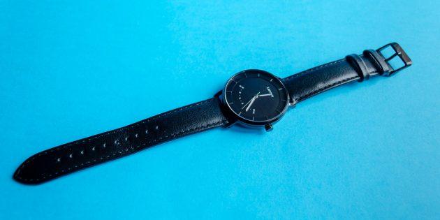 Lenovo Watch S чёрного цвета