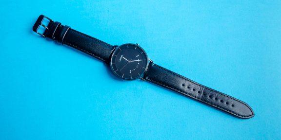 Обзор Lenovo Watch S — умных водонепроницаемых часов в классическом исполнении
