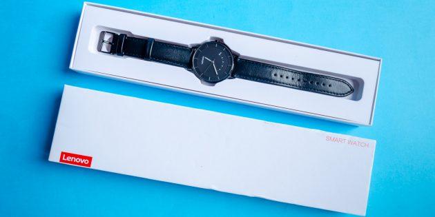 Lenovo Watch S: комплектация и внешний вид