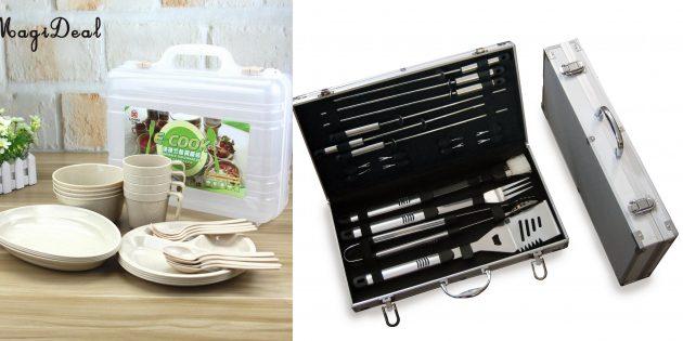 Подарки мужу на 23Февраля: посуда и столовые аксессуары для кемпинга