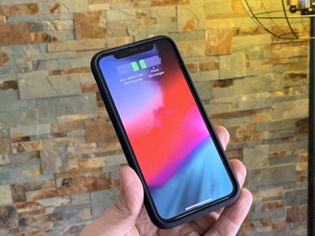 Чехол-аккумулятор для iPhone XS работает с iPhone X