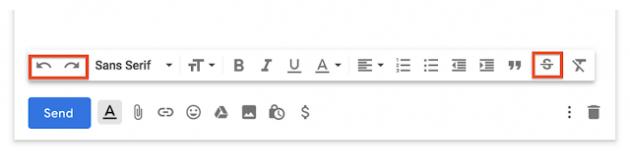 Почтовый ящик Gmail: новые кнопки