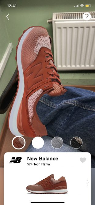 Wanna Kicks: виртуальная примерка обуви