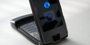 Легендарный Motorola RAZR будет возрождён
