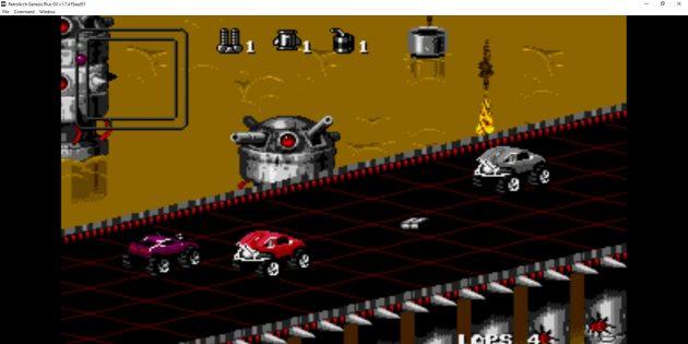 Эмуляторы Сега: RetroArch