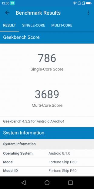 Обзор Poptel P60: Benchmark Results