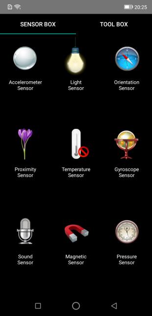 Ulefone Armor 6: Sensor Box