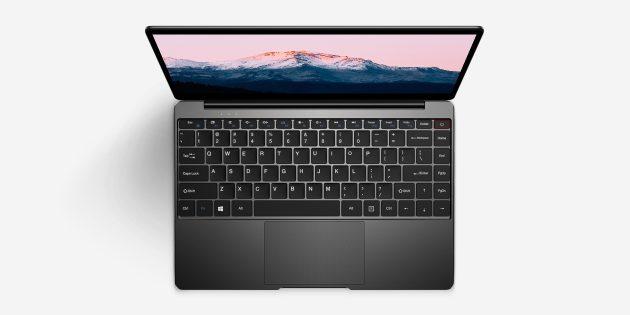 Новый ноутбук Chuwi — Aerobook: клавиатура