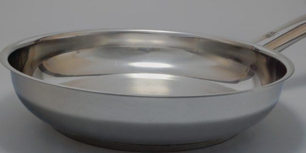 Как выбрать сковороду: Сковорода из нержавеющей стали