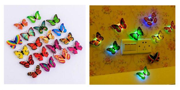 Ночник-бабочка для детской
