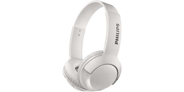 Лучшие беспроводные наушники: Philips BASS+ SHB3075