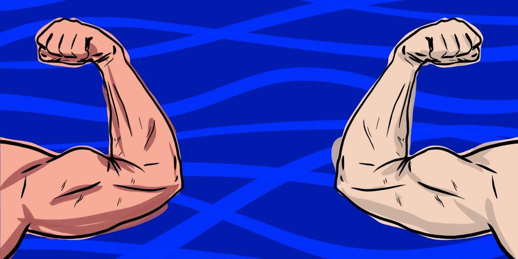 Комплексная тренировка: как накачать бицепс и пресс