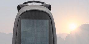 XD Design показала рюкзак Bobby с солнечной батареей