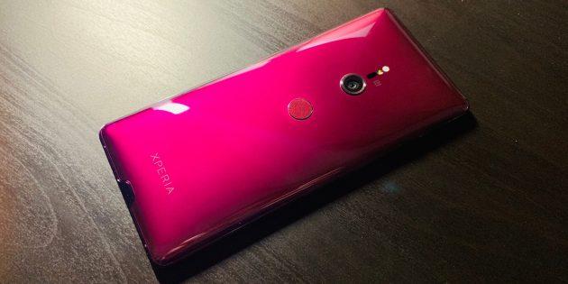 Sony Xperia XZ3: «Бордо»