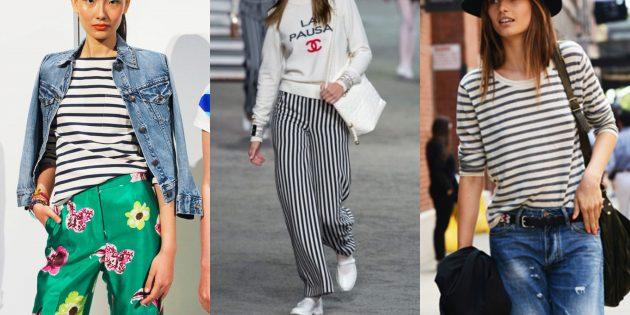 Женская мода 2019года: Бретонская полоска